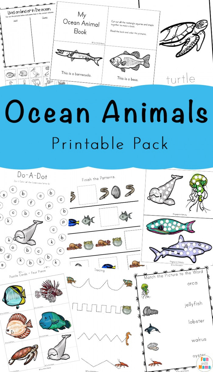 Ocean Worksheets for 2nd Grade Cut Out Graph Sea Creatures Worksheets