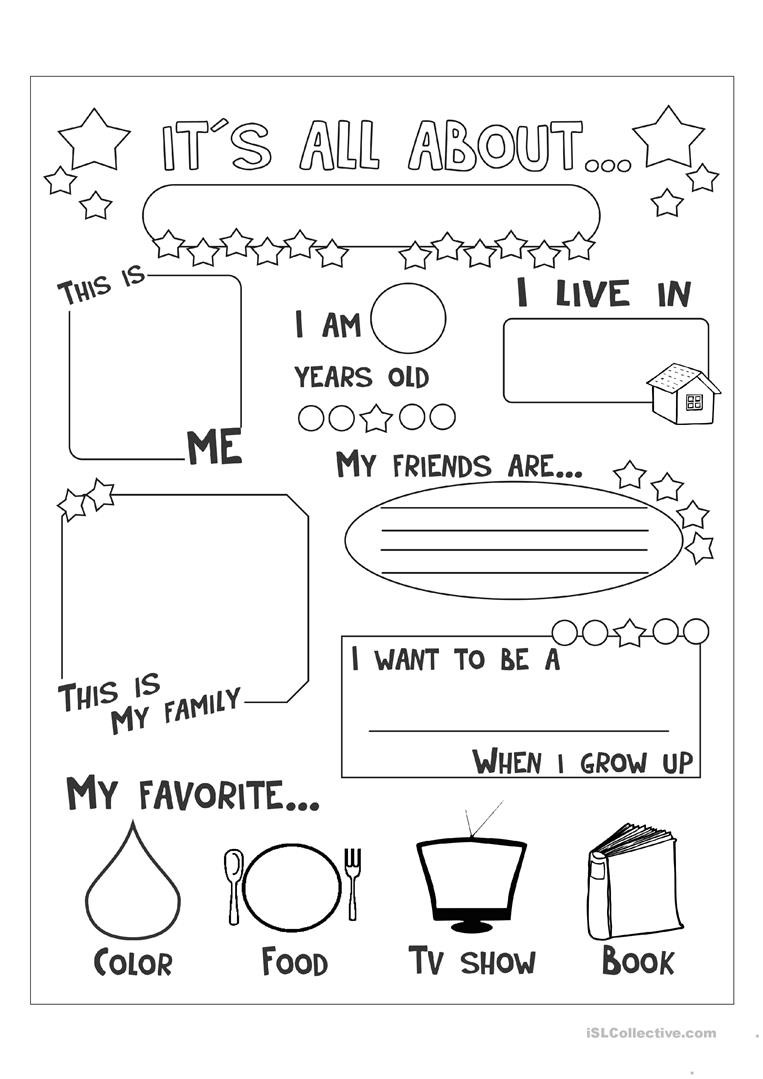 Optical Illusion Worksheets Printable All About Me English Esl Worksheets for Distance Learning