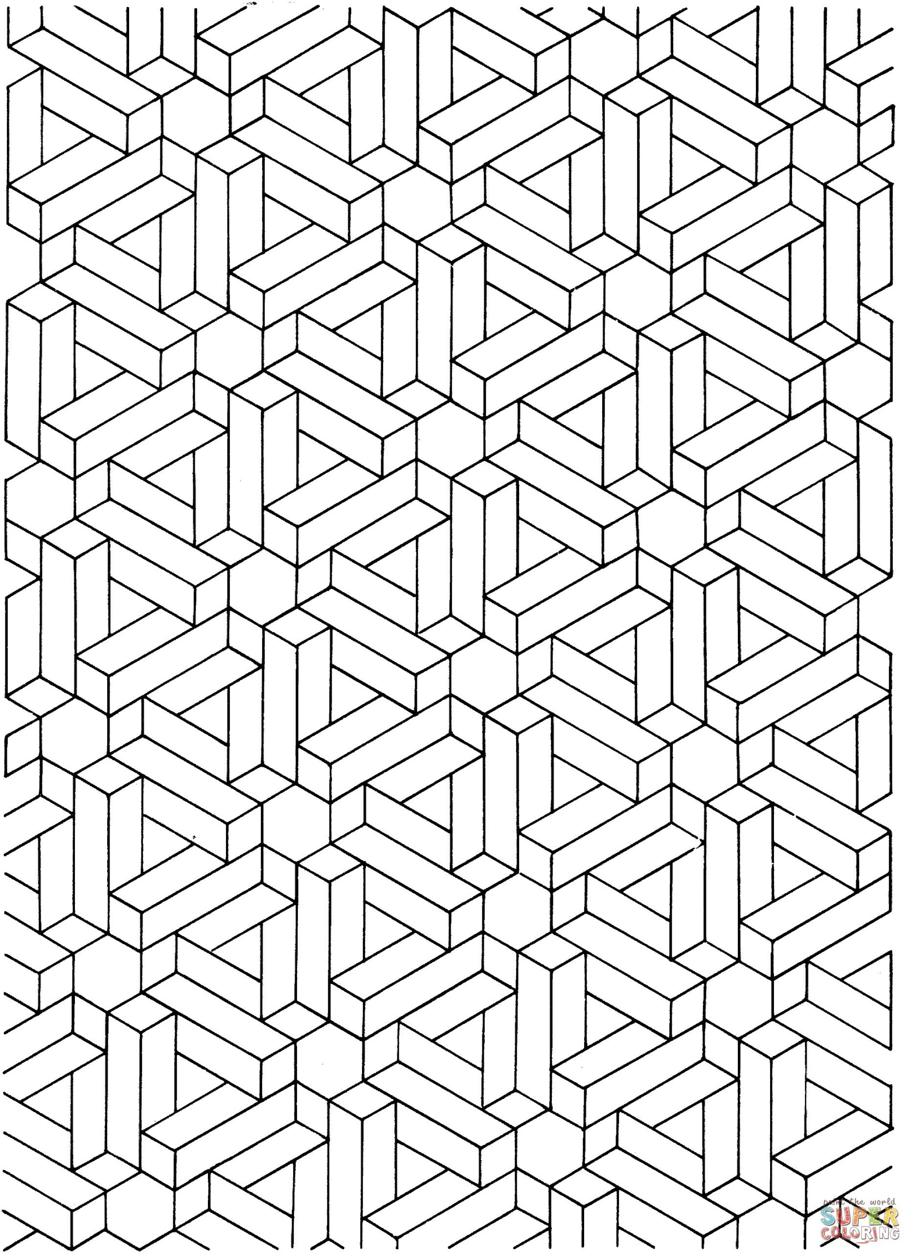 Optical Illusion Worksheets Printable Fun Math Games for 2nd Grade sonic the Hedgehog Coloring