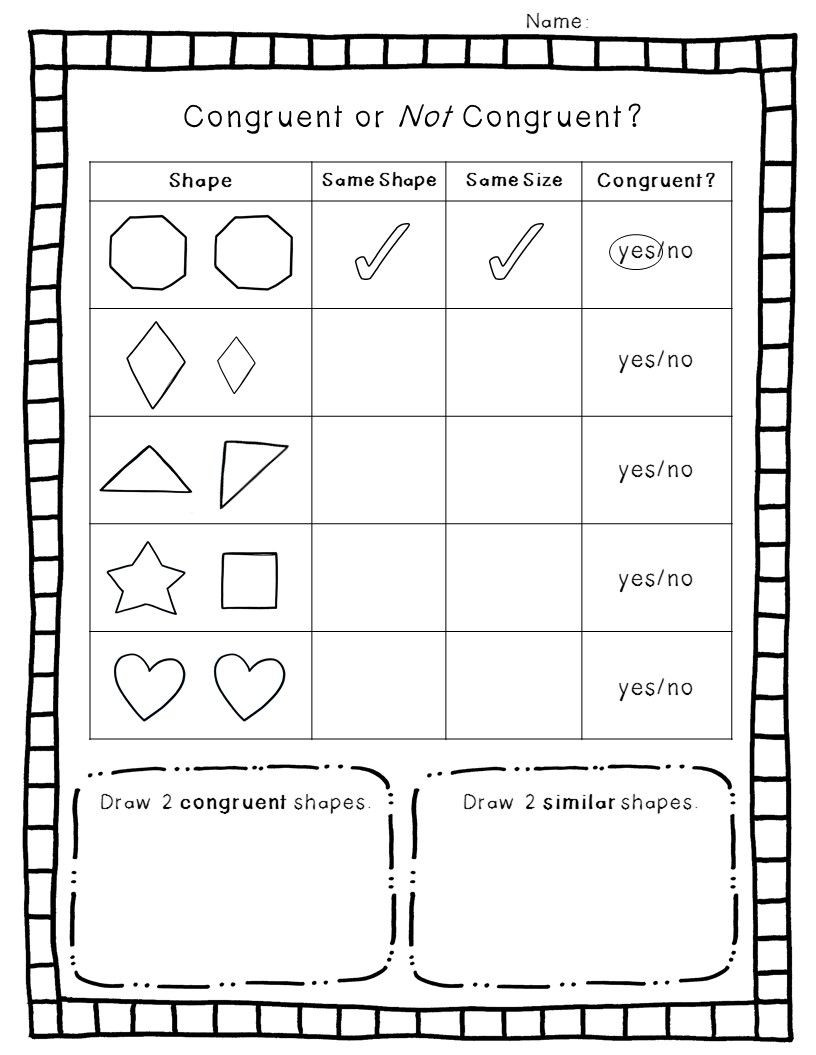 Polygon Worksheets 2nd Grade 2 D Geometry Pack
