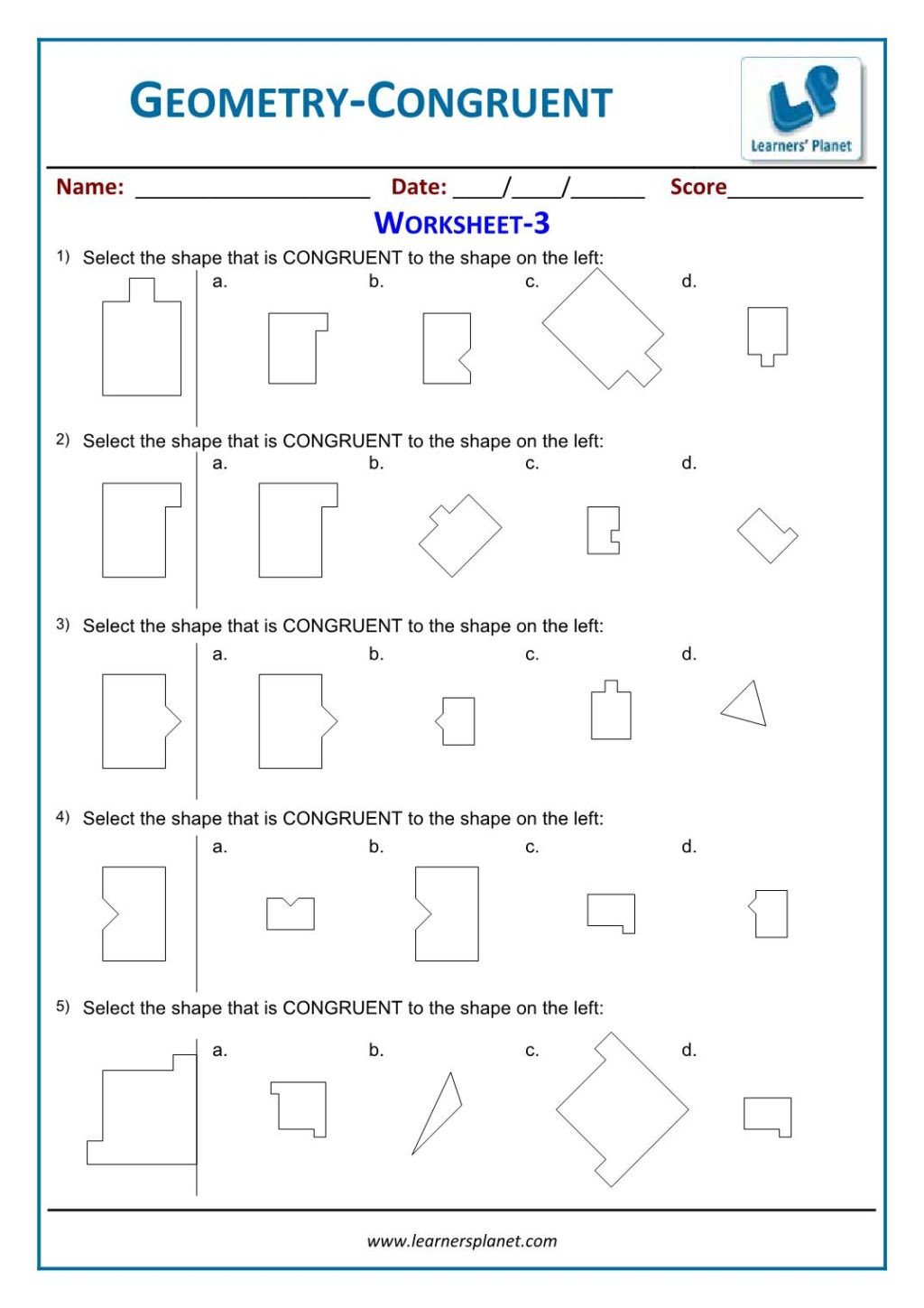 cbse class 3 geometry worksheets online math practice tests 4