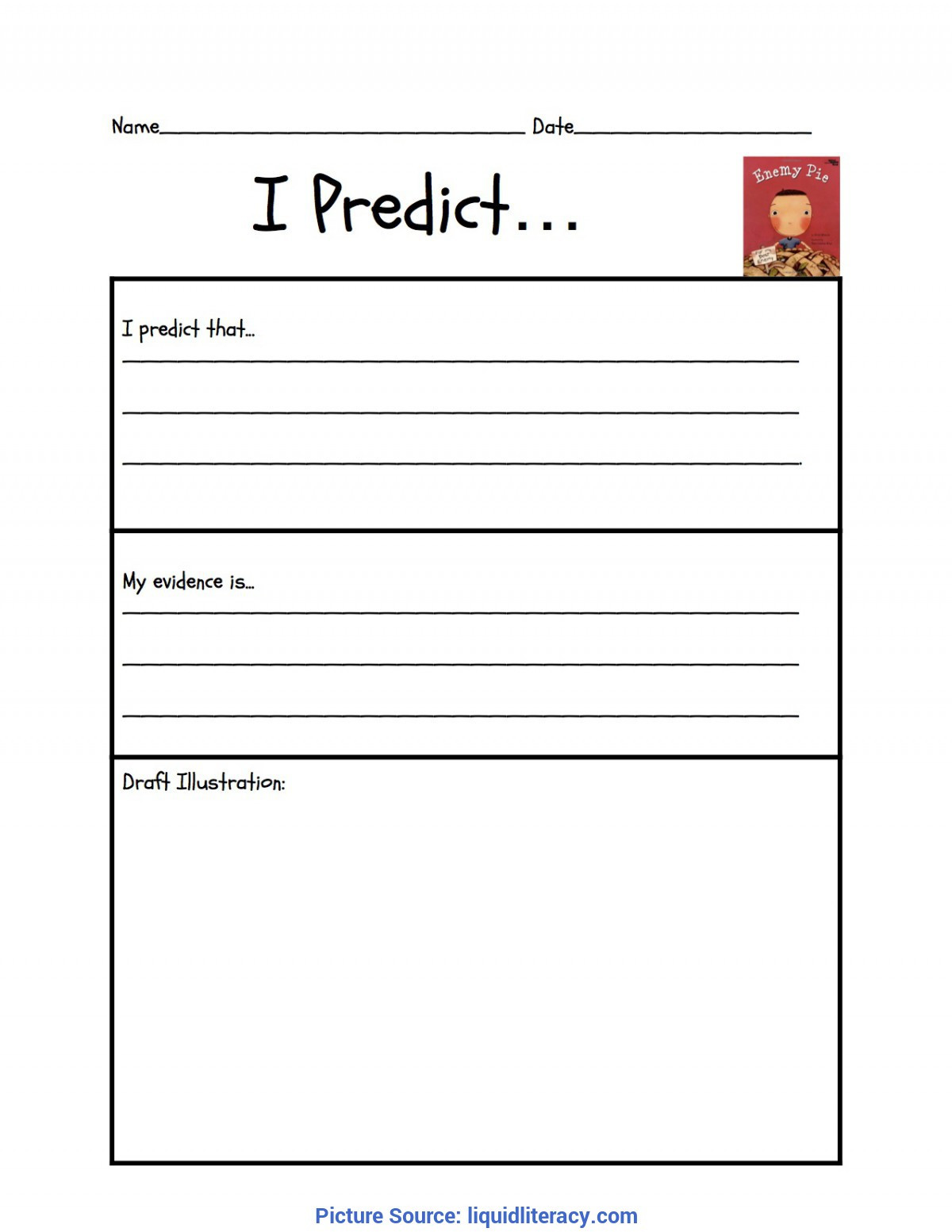 Prediction Worksheets for 3rd Grade Workshop Classroom Making Inferences Mini Lessons