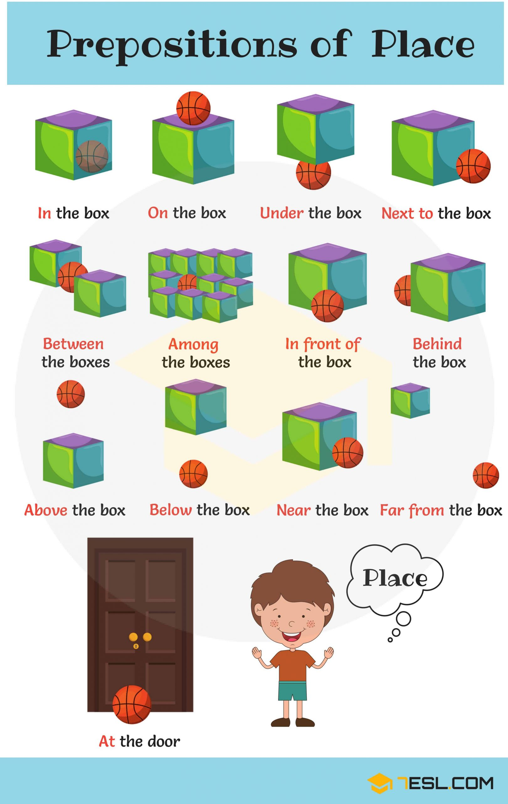 Preposition Worksheets for Middle School Prepositions with Useful Prepositions for Kids 7