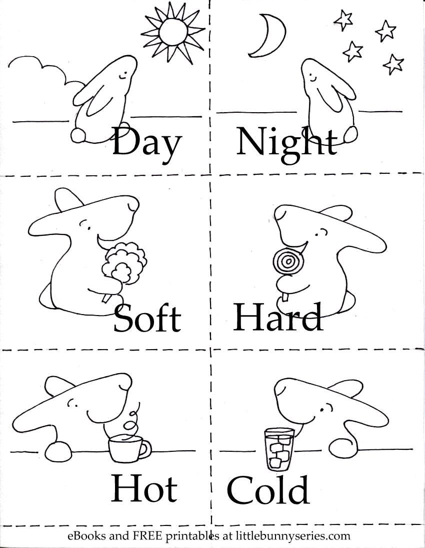 Preschool Opposites Worksheets On the Above Image for A Pdf Of the Opposites 3 In 1