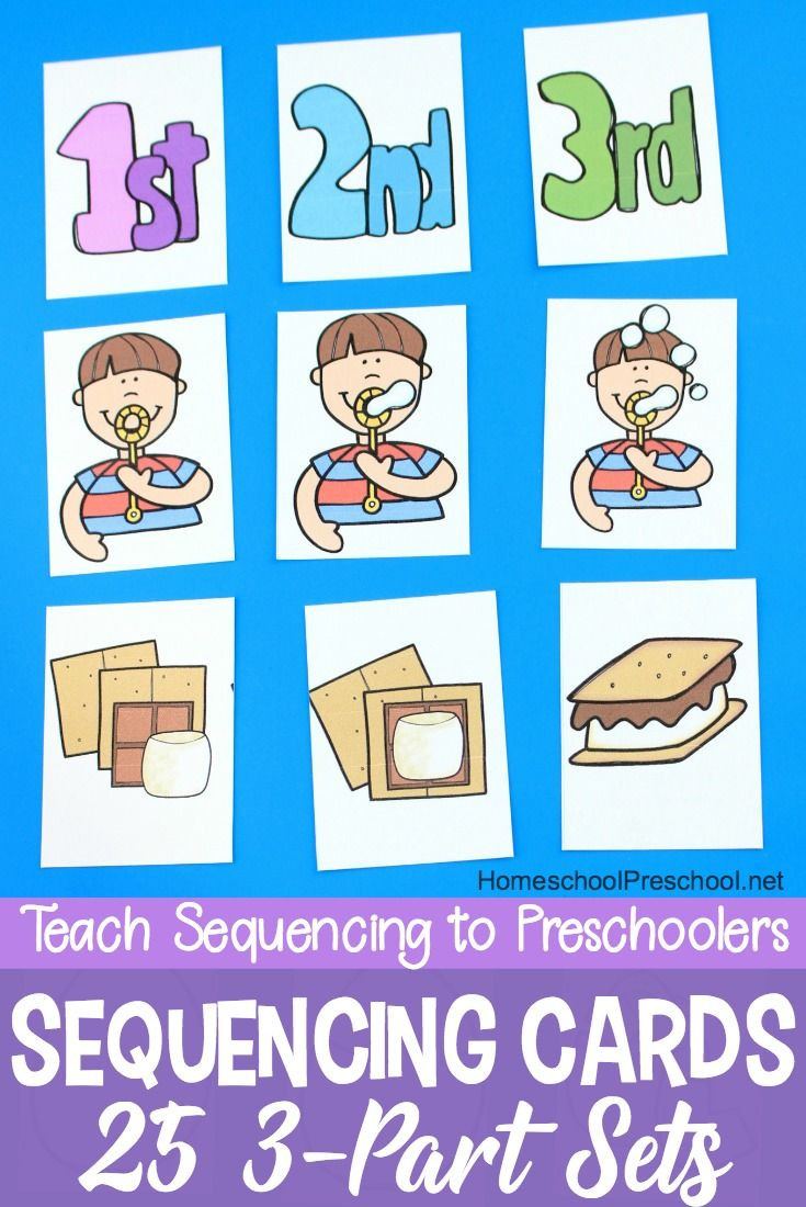 Printable Sequencing Worksheets 3 Step Sequencing Cards Printables for Preschoolers