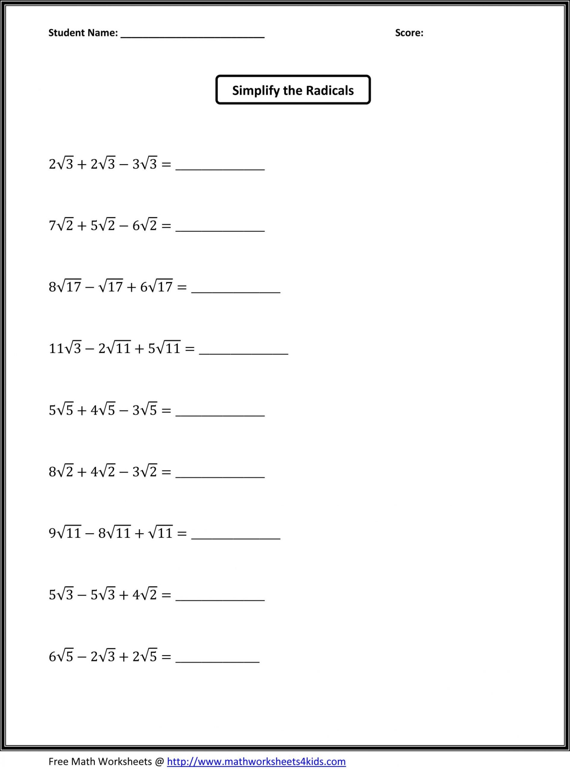 Probability Worksheets 7th Grade Pdf 7th Grade Math Worksheets Pdf