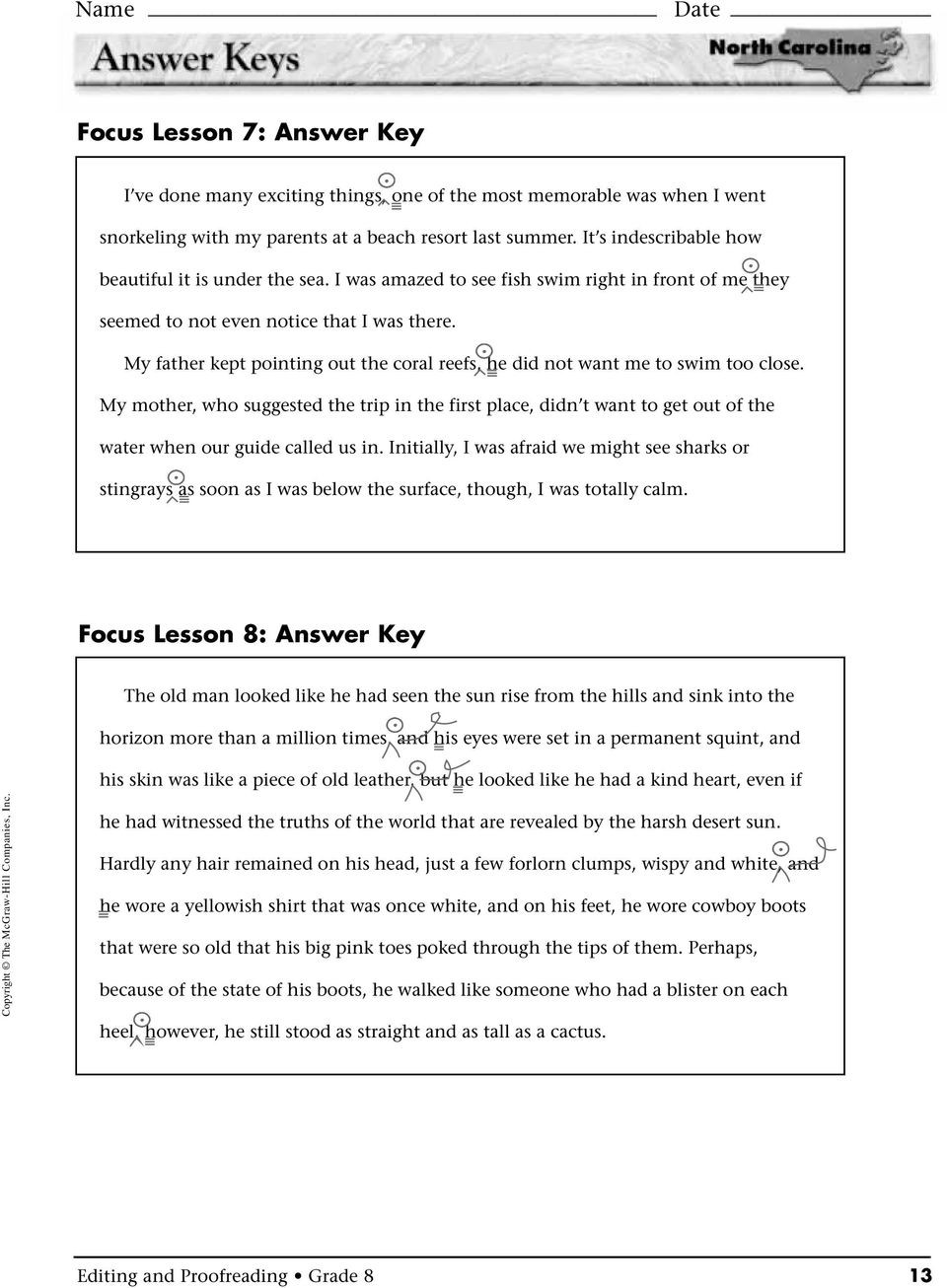 Proofreading Worksheets High School Editing and Proofreading Pdf Free Download