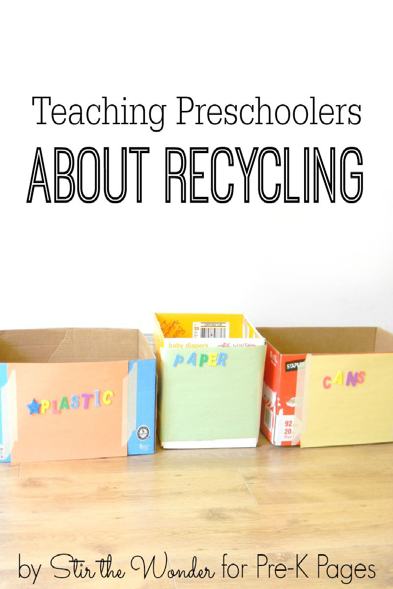 Recycling Worksheets for Preschoolers Teaching Preschoolers About Recycling Pre K Pages