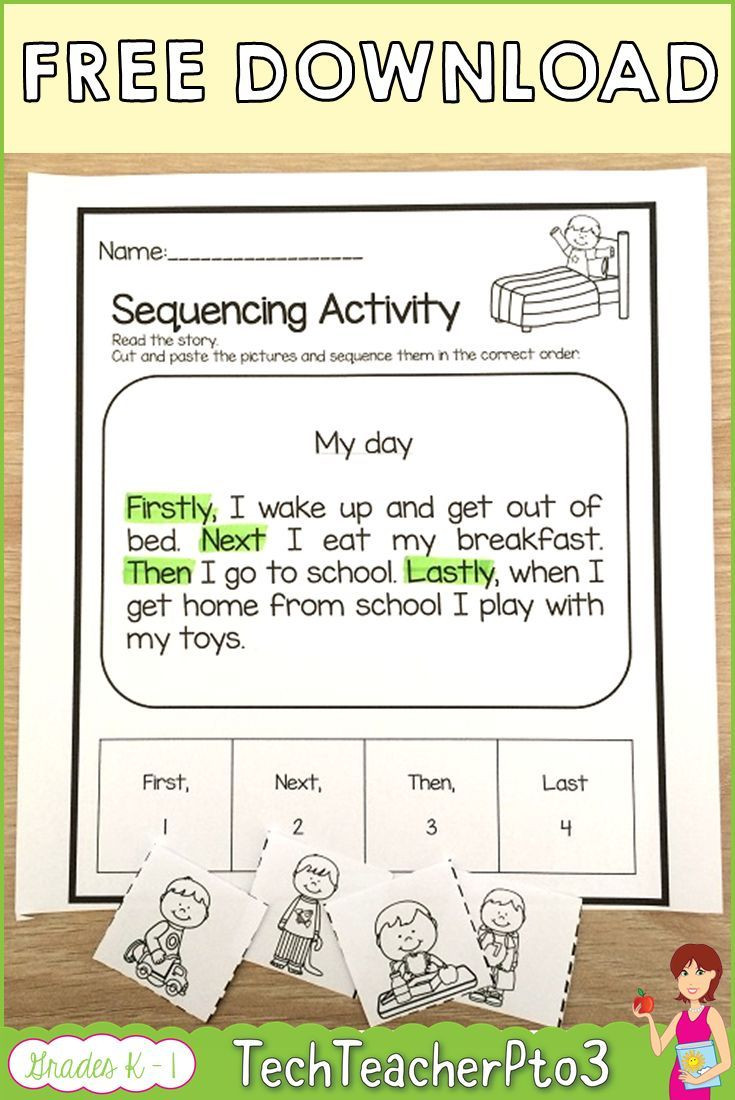 Sequencing Worksheet 2nd Grade Pin On 2nd Grade Material