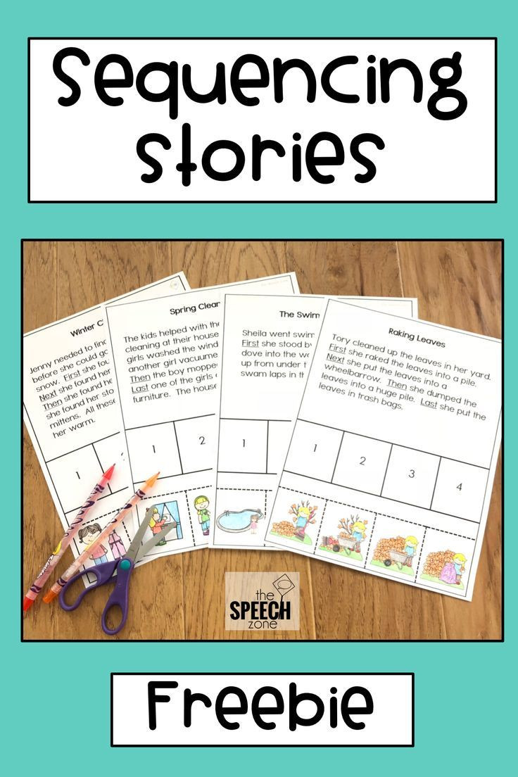 Sequencing Worksheets for Middle School Free Sequencing Stories