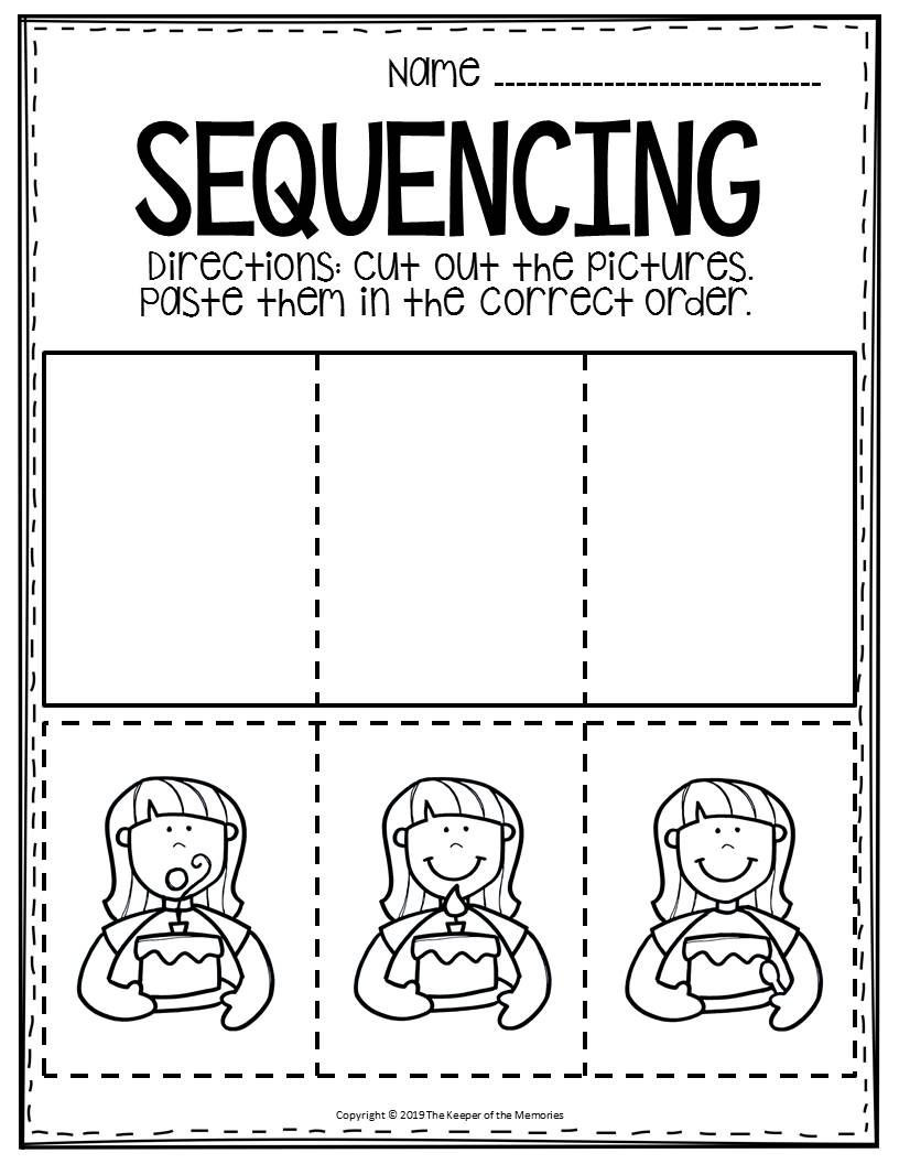 Sequencing Worksheets Middle School Free Printable Sequence Of events Worksheets