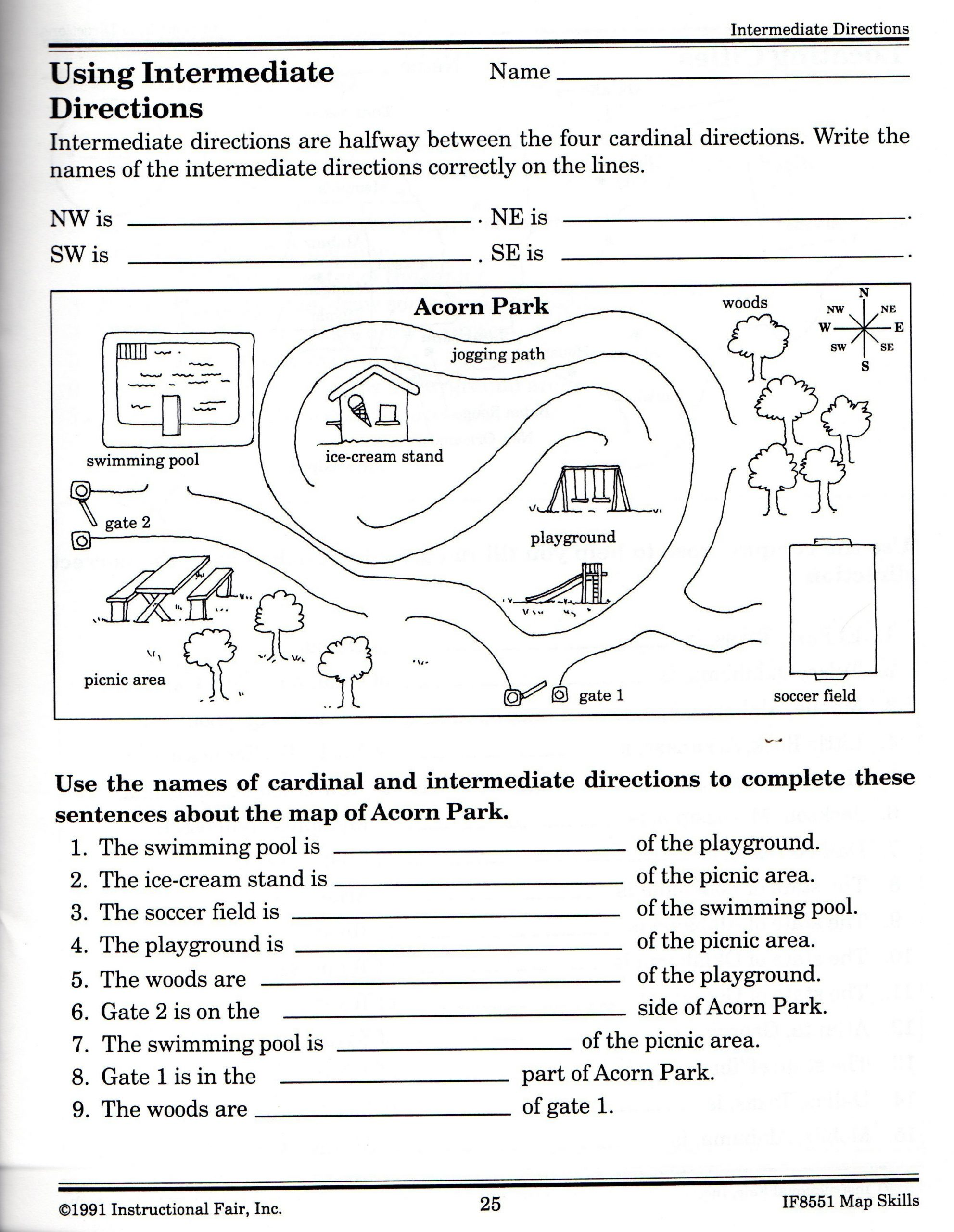 Social Studies Worksheets 2nd Grade 21 Awesome Following Directions Worksheet for You