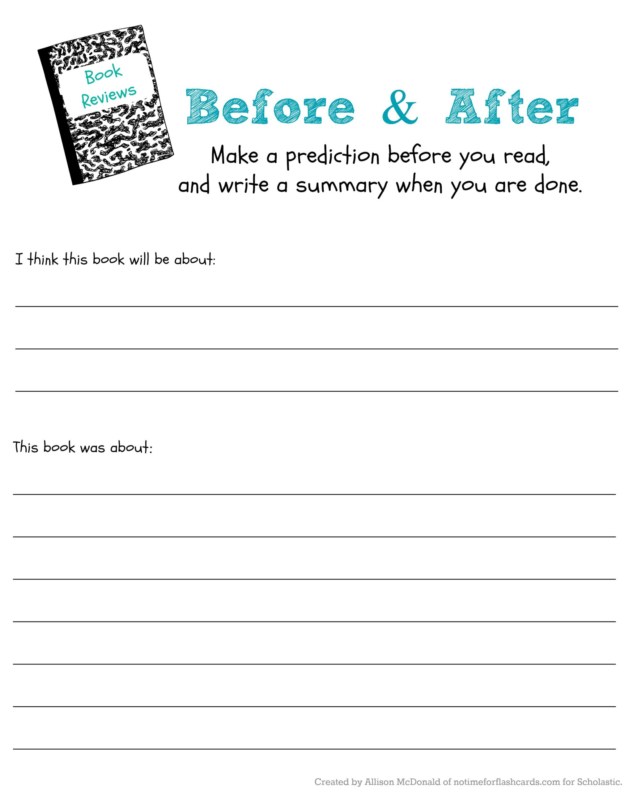 Summary Worksheets 2nd Grade Judge Book by Its Cover to Predict Read Scholastic Parents