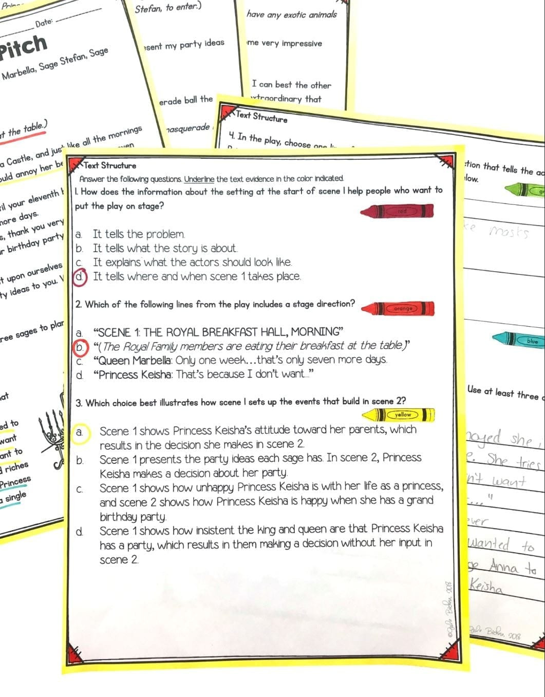 Text Structure Worksheets 4th Grade Text Structure In Stories Poems and Plays 4th Grade Rl 4 5 & 5th Grade Rl 5 5