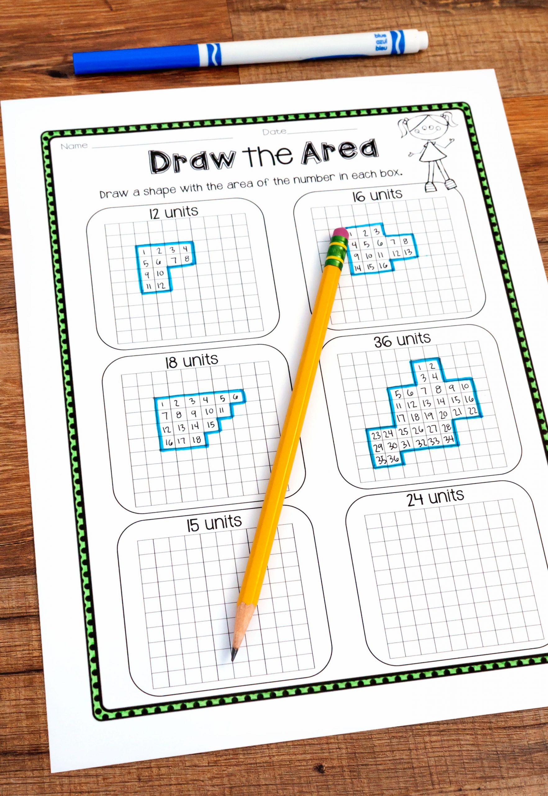 Third Grade Perimeter Worksheets Teaching area and Perimeter In 2020 with Images