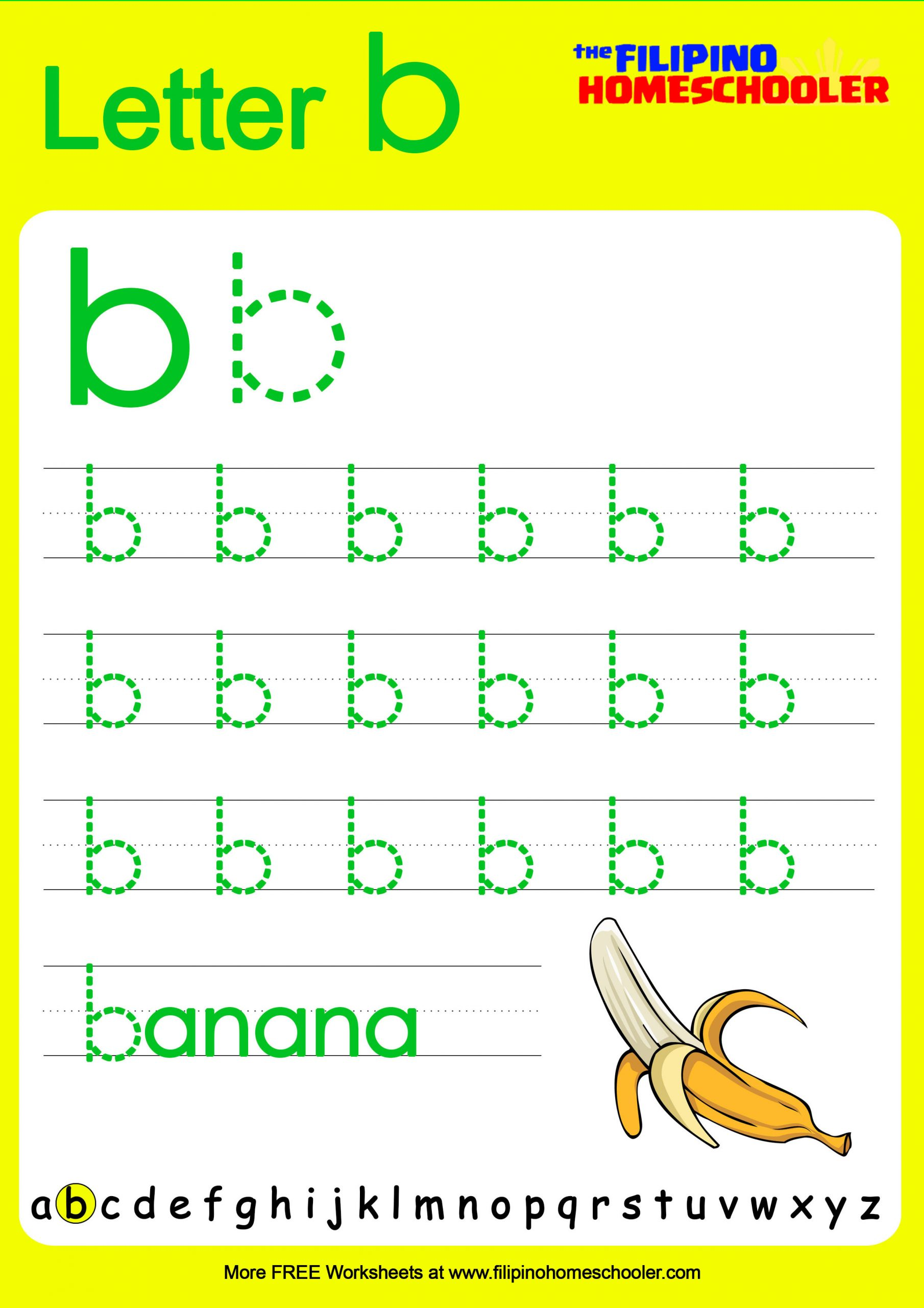 Tracing Lowercase Letters Printable Worksheets Free Lowercase Letter Tracing Worksheets — the Filipino