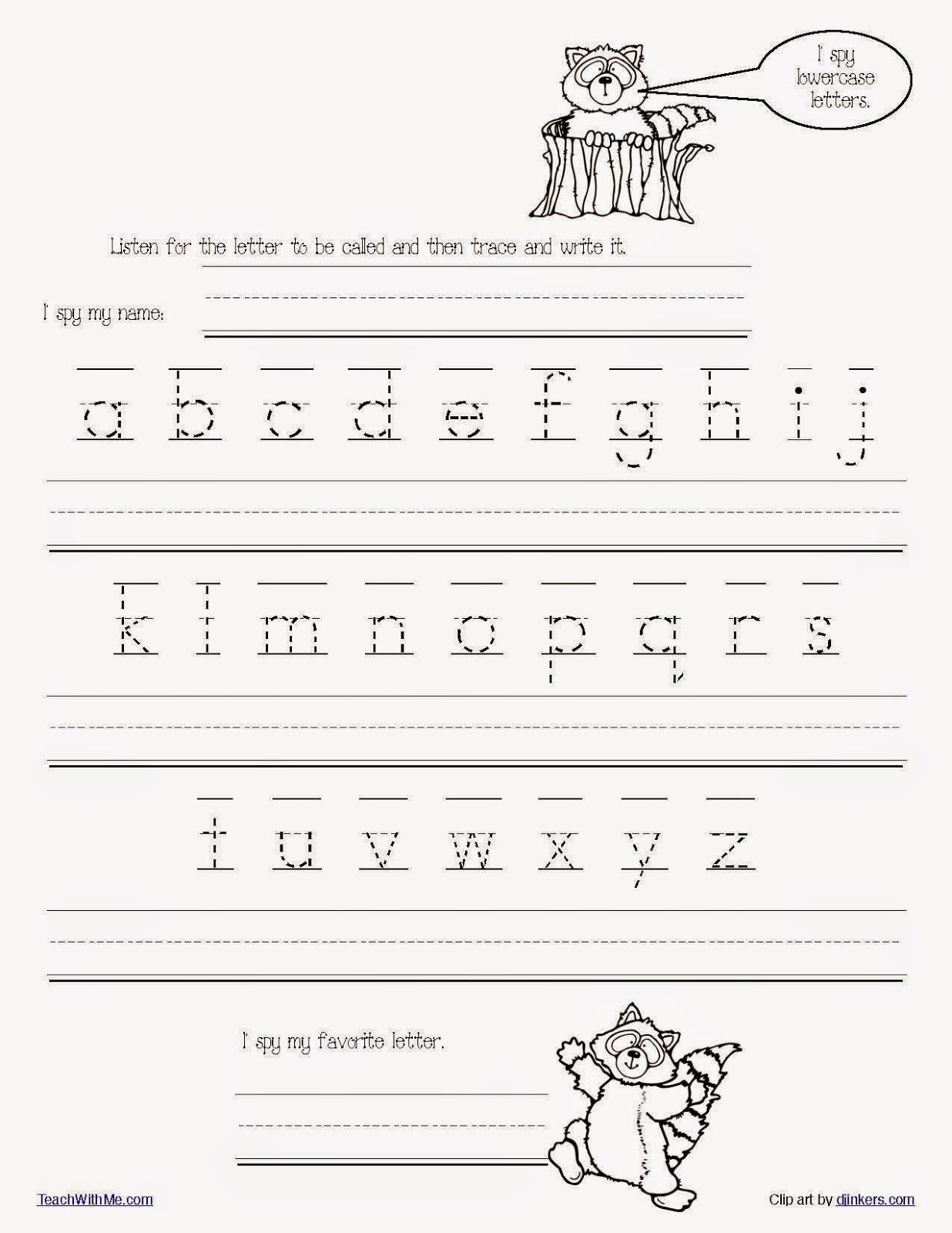Tracing Lowercase Letters Printable Worksheets Math Worksheet Free Printable Handwriting Worksheets for