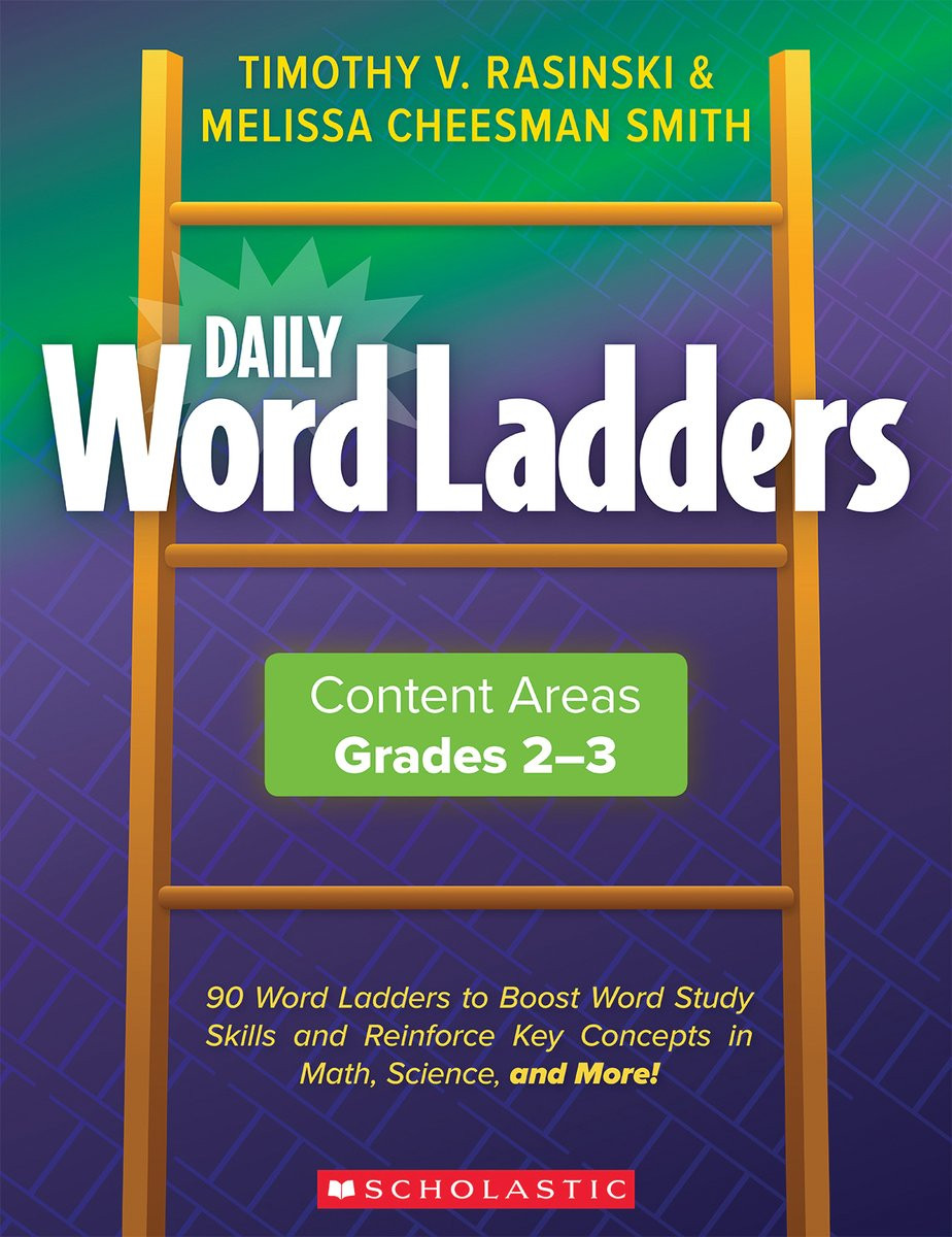 Word Ladders Middle School Scholastic Daily Word Ladders Grades 2 3 Word Study Activities